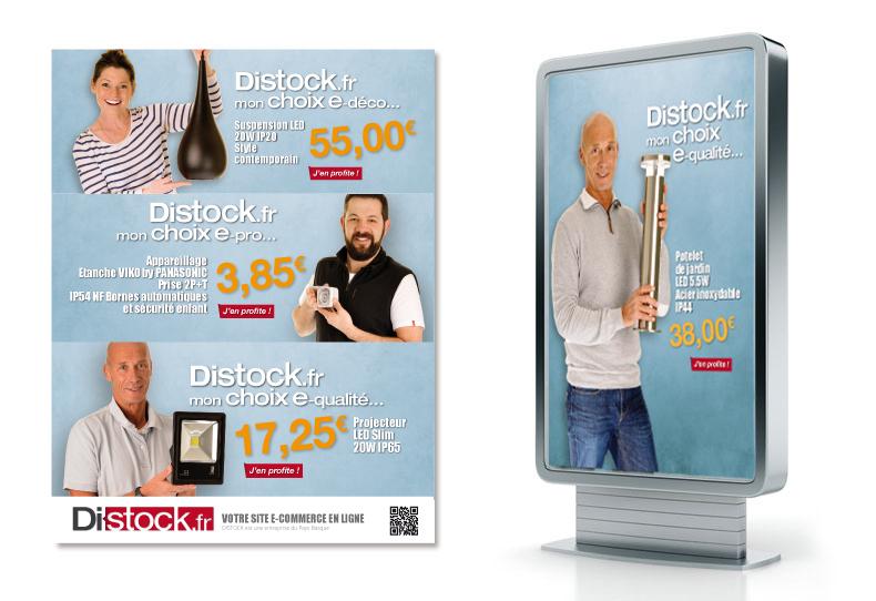 Distock.fr campagne de communication