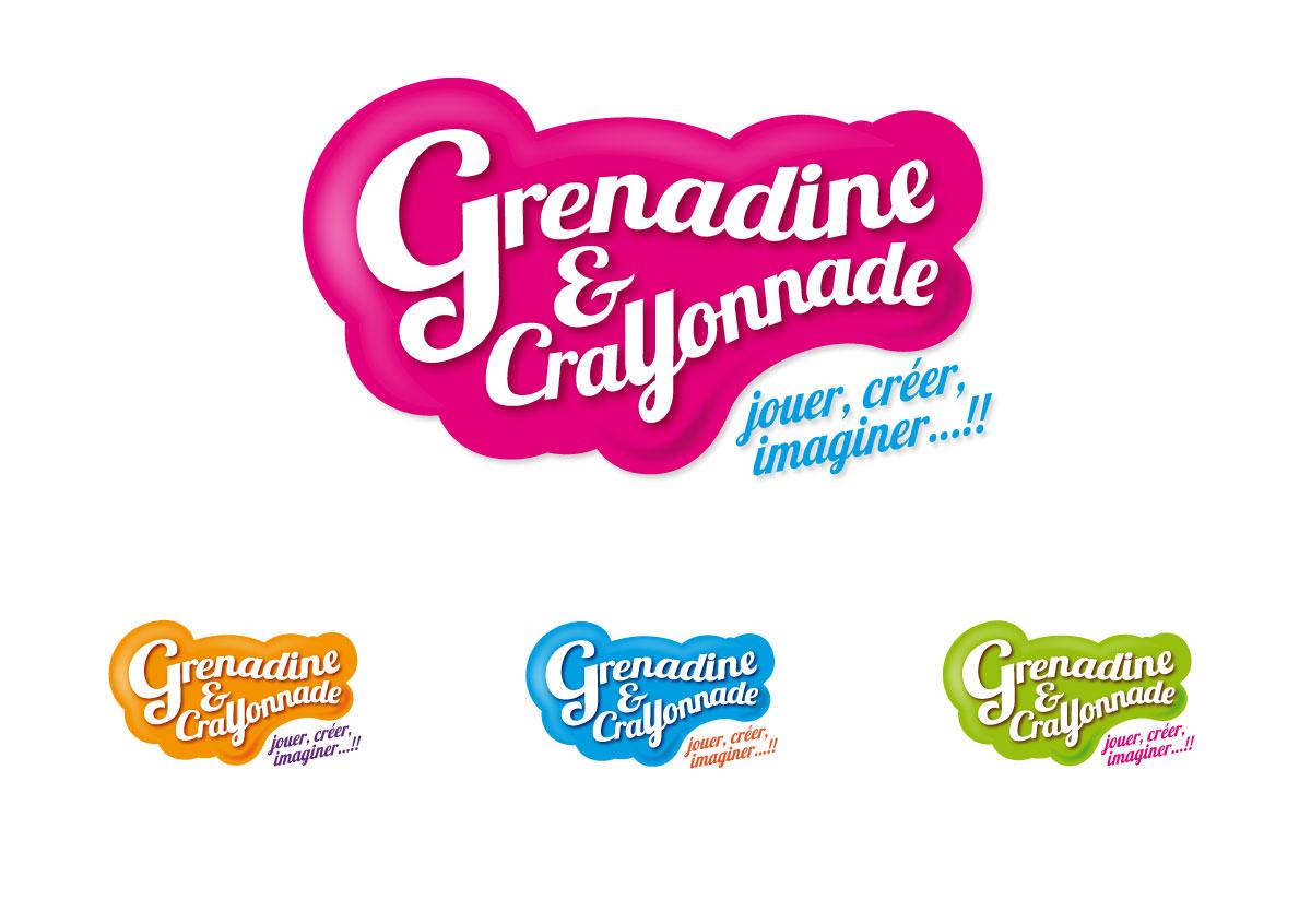 Grenadine & Crayonnade logo