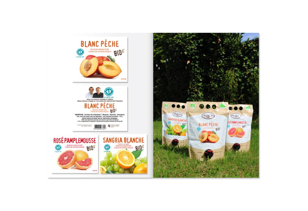 Maison Meneau packaging