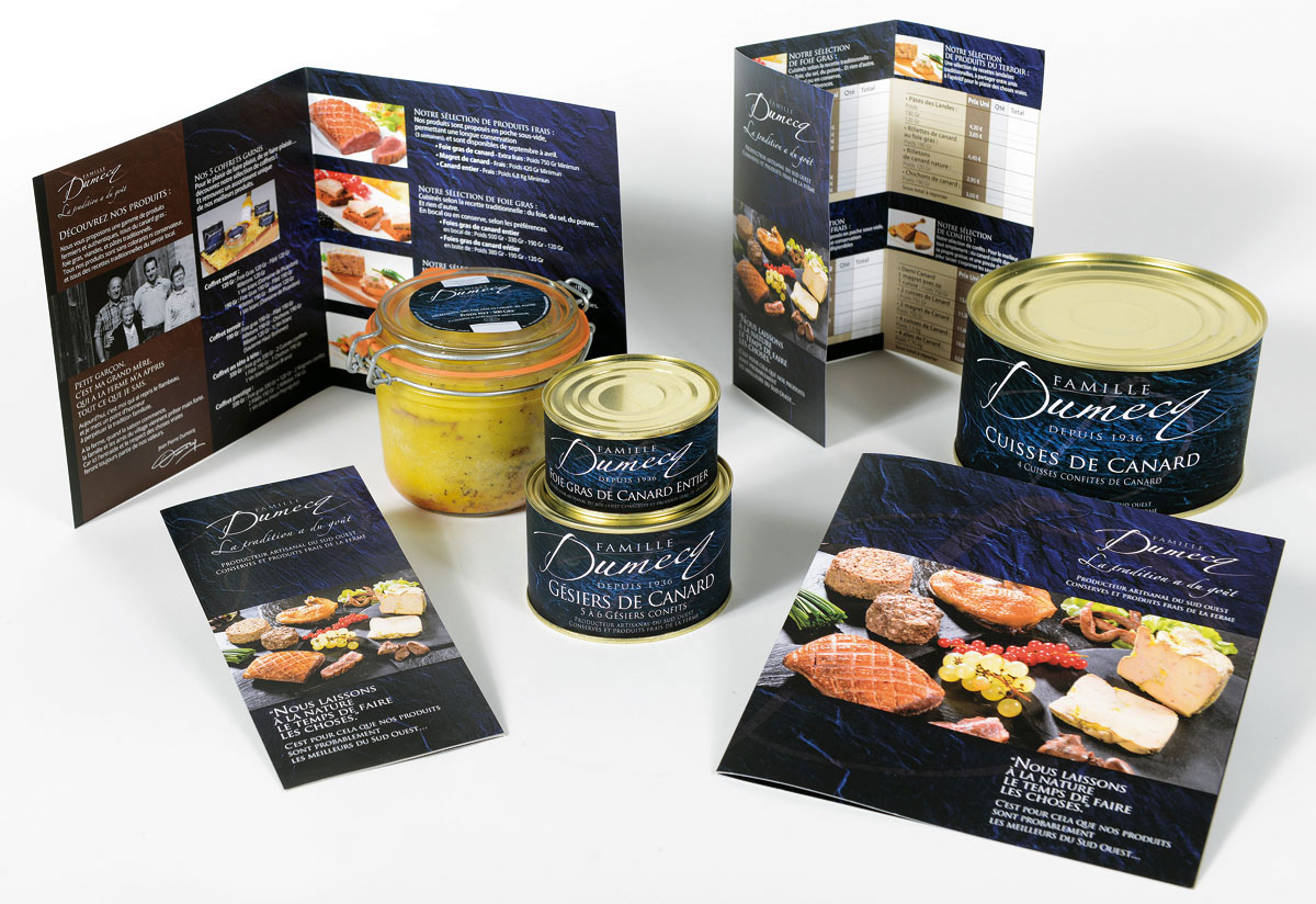 Famille Dumecq packaging