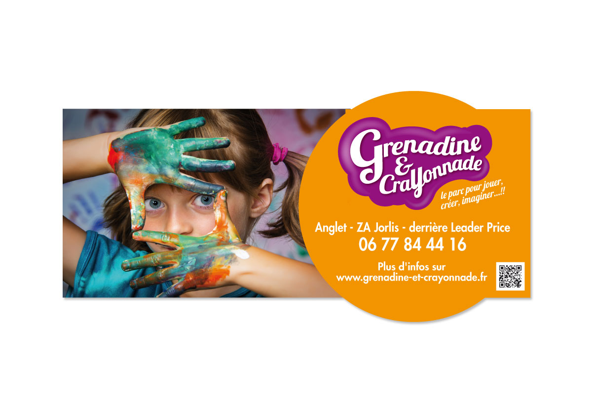 Grenadine & Crayonnade signalétique