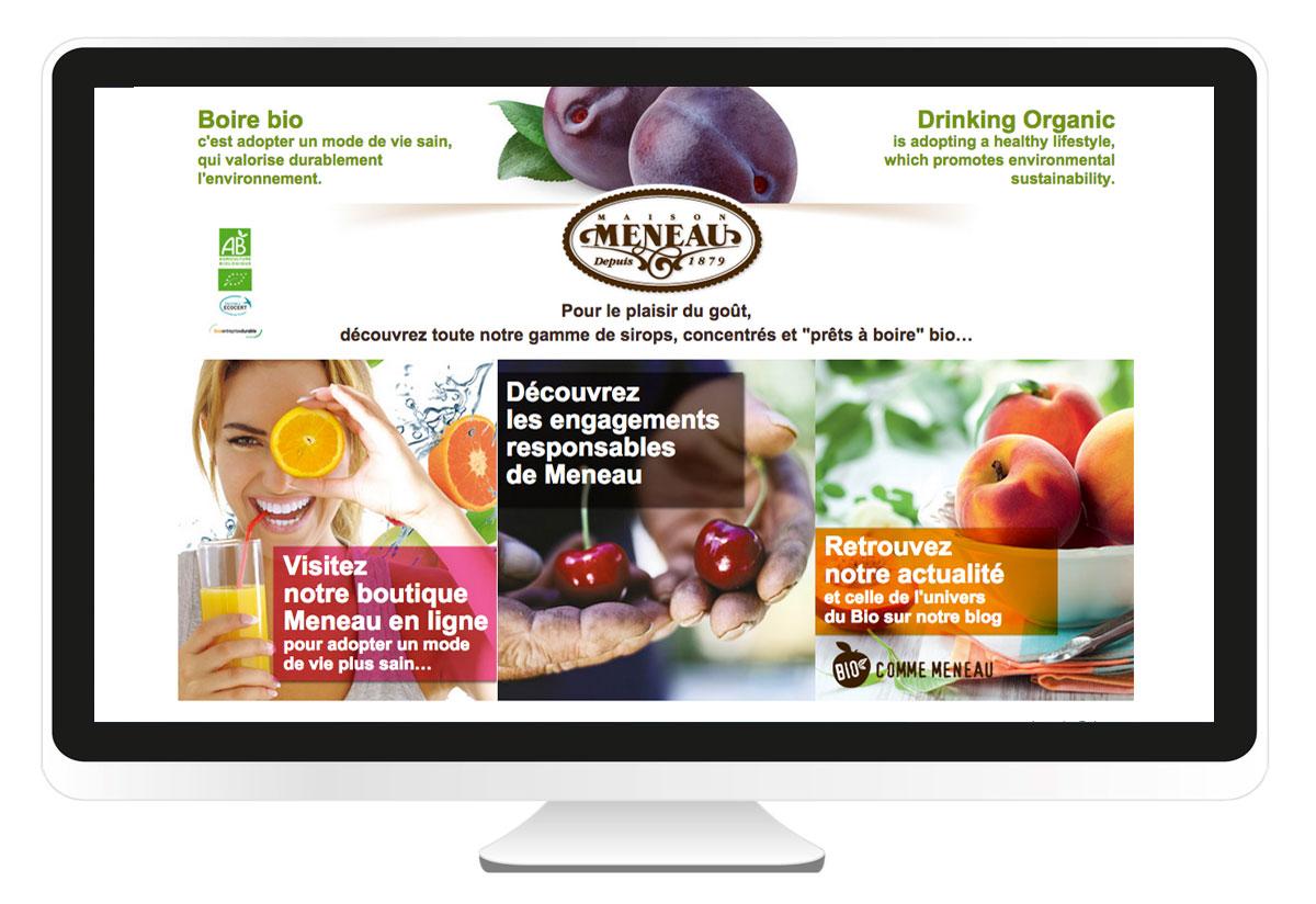 Maison Meneau site internet