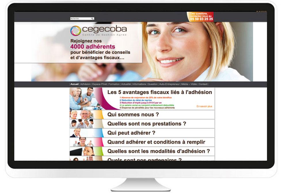 Cegecoba site internet