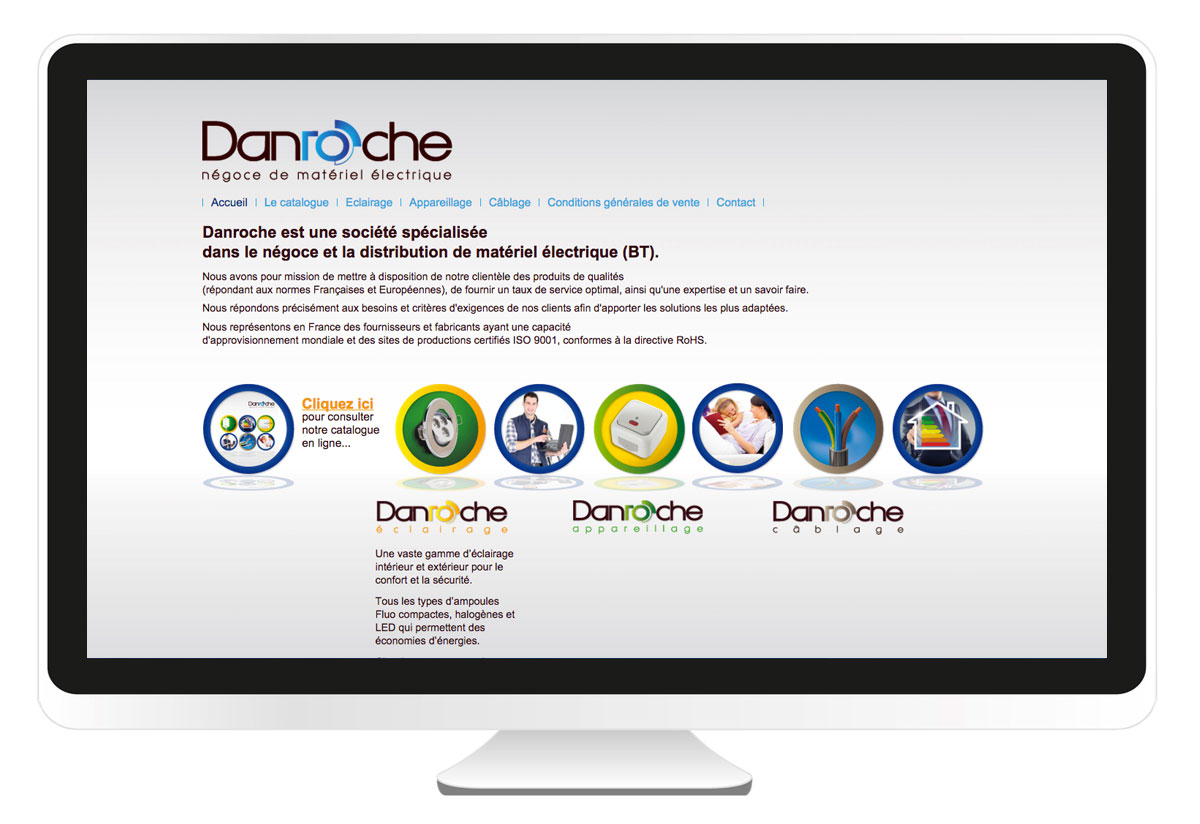 Danroche site internet