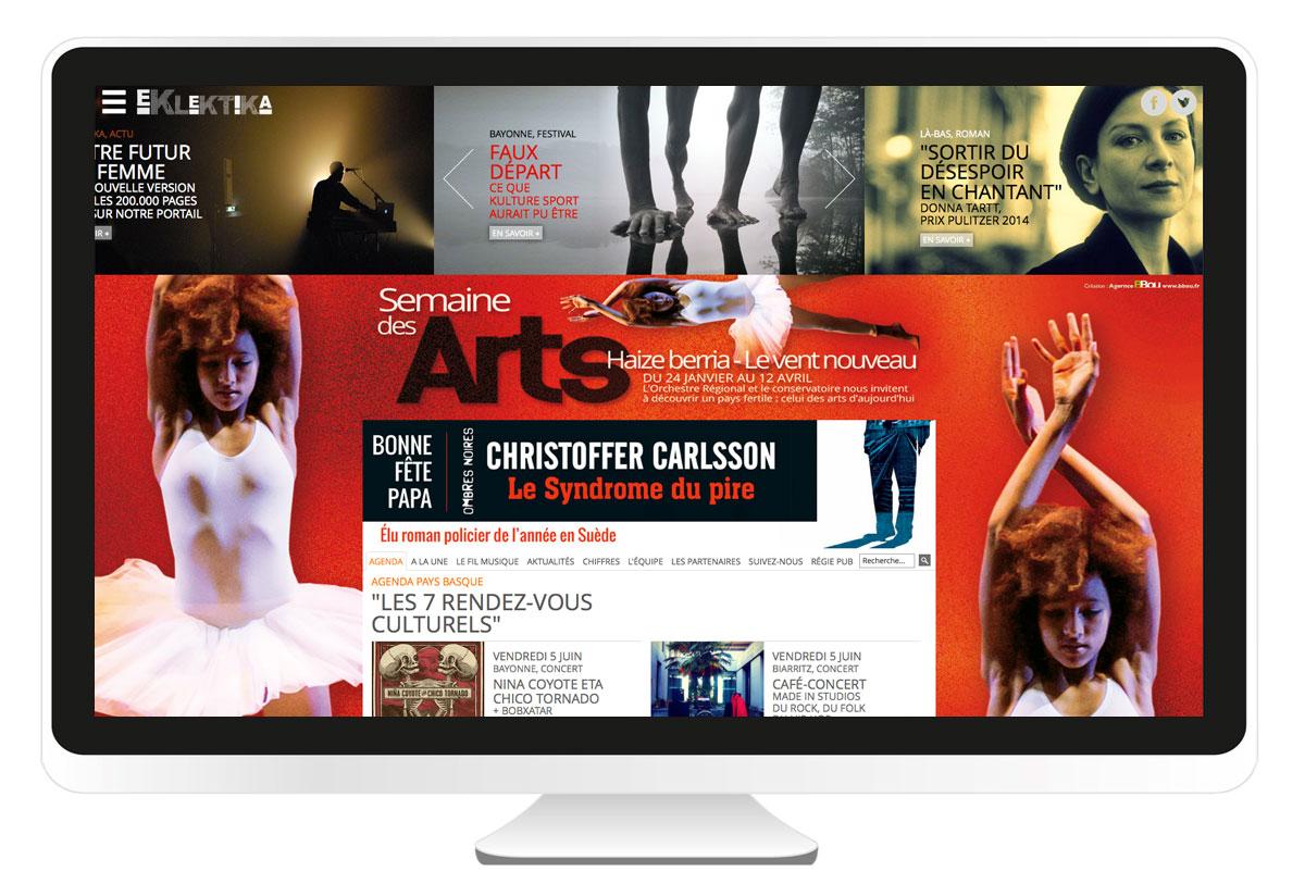 Eklektika.fr site internet
