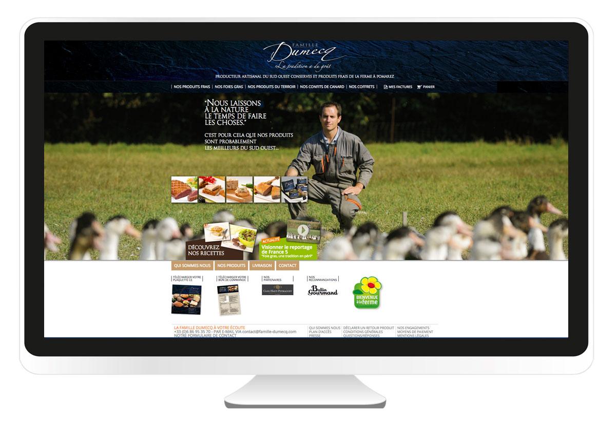 Famille Dumecq site internet