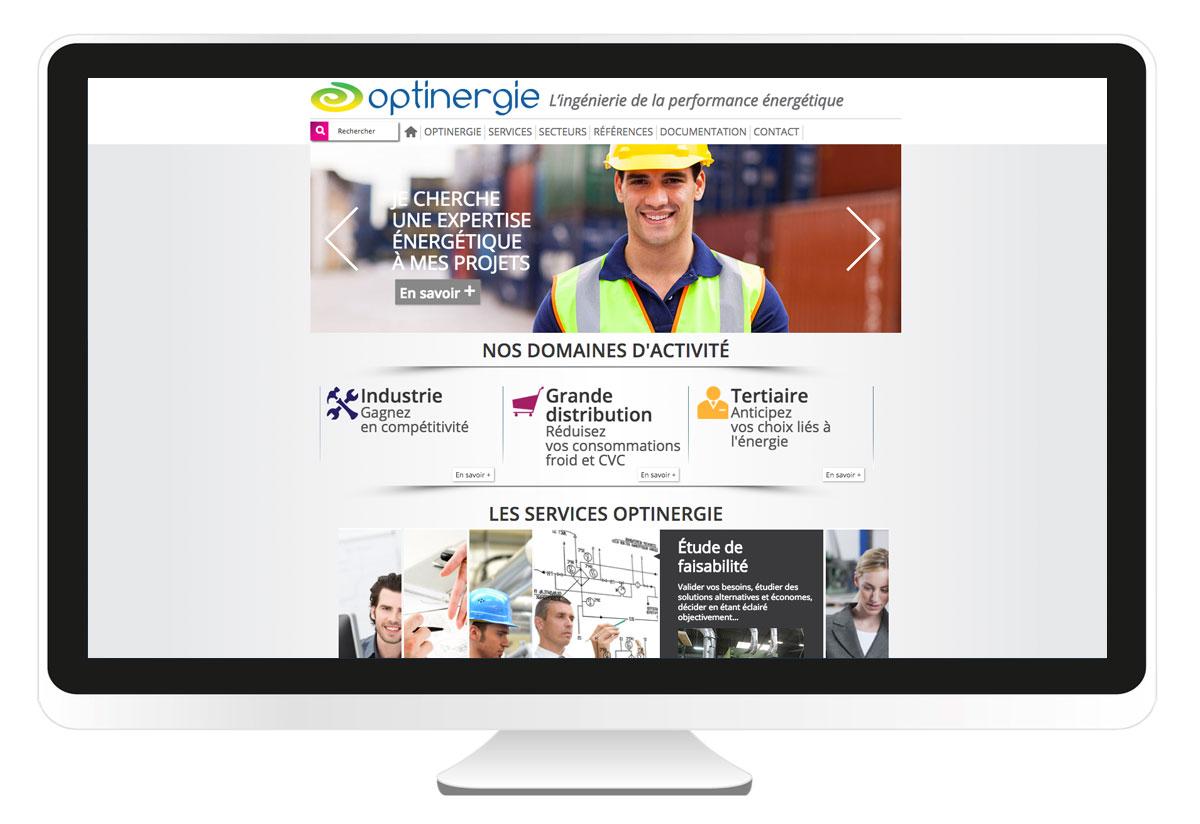 Optinergie site internet