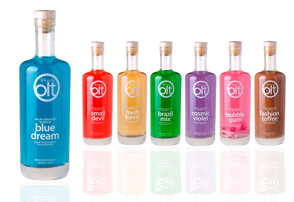 Rhum Olt packaging