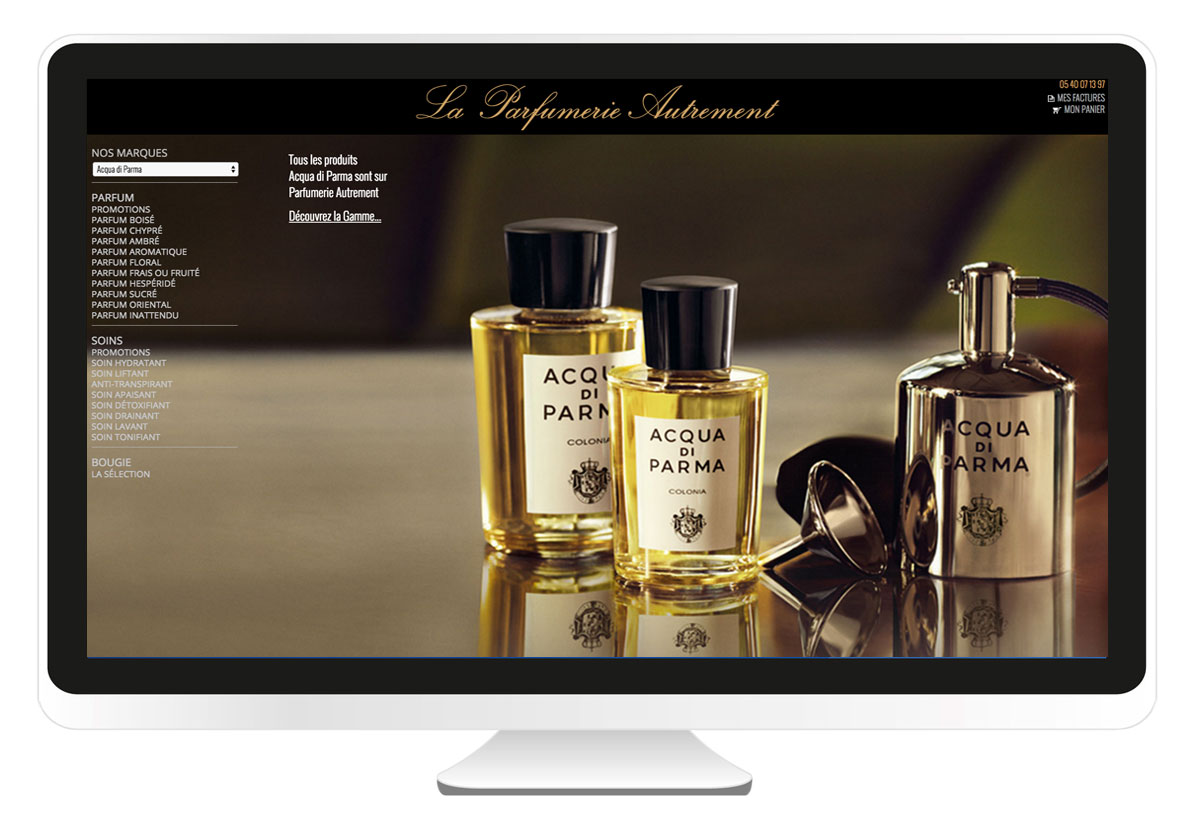 Parfumerie autrement site internet