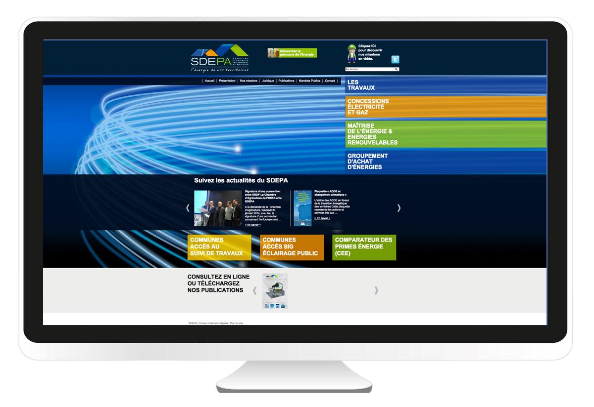 SDEPA site internet