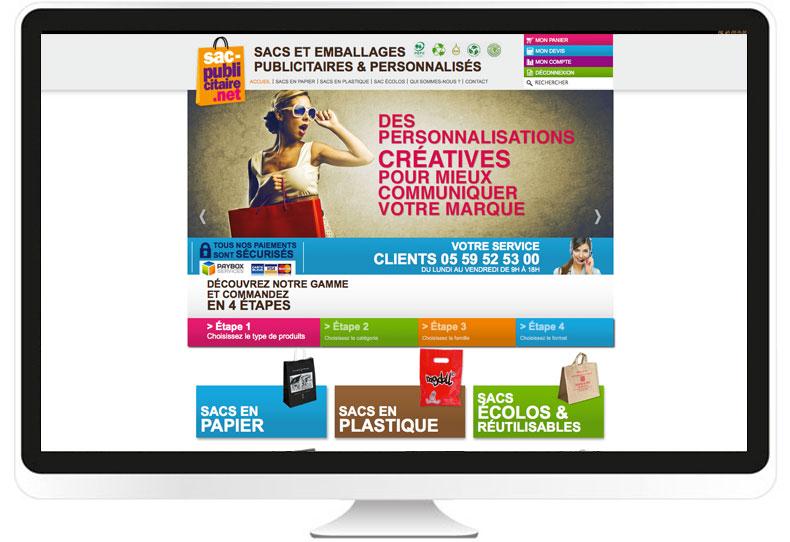 Sac-publicitaire.net site internet