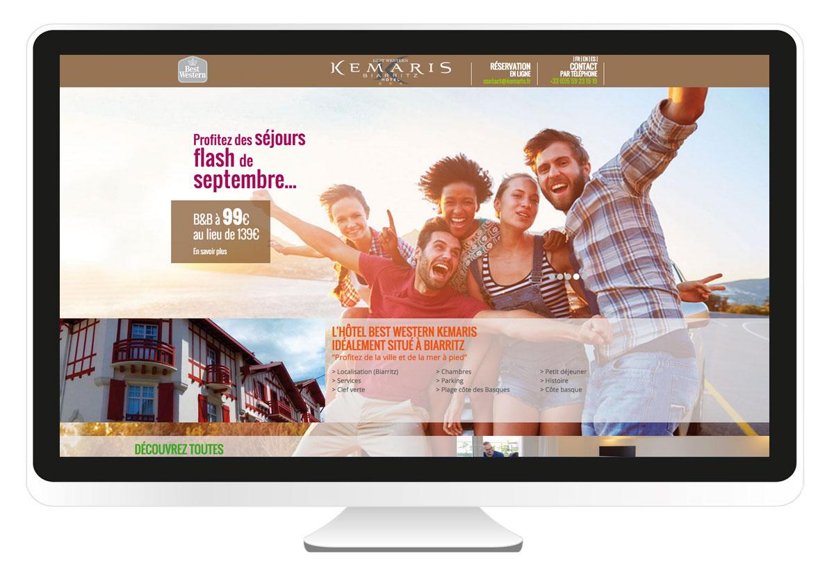 Kemaris.fr création site internet