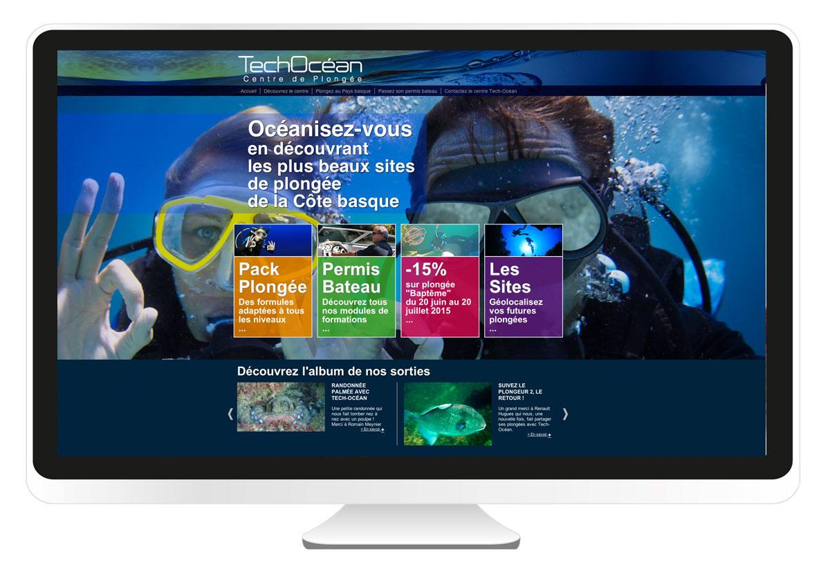 tech-ocean.fr création de site internet