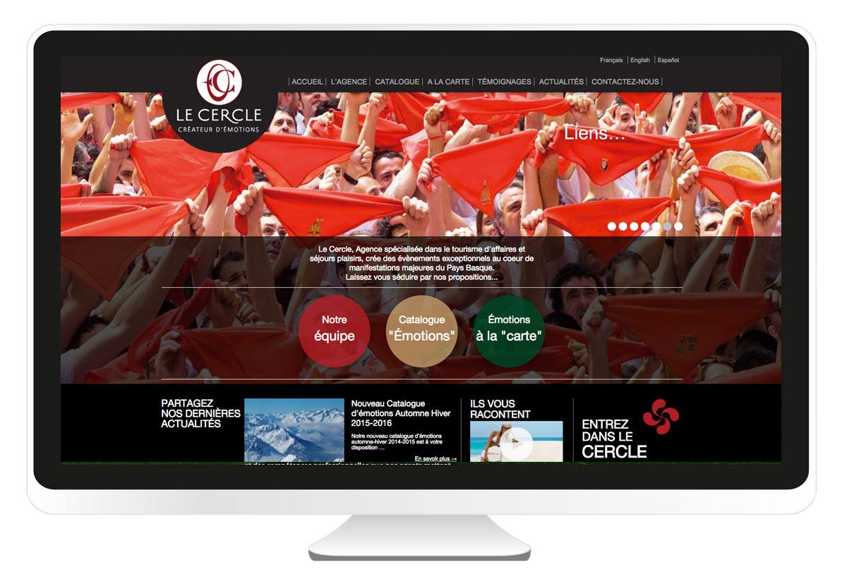 le-cercle-evenements.com création site internet