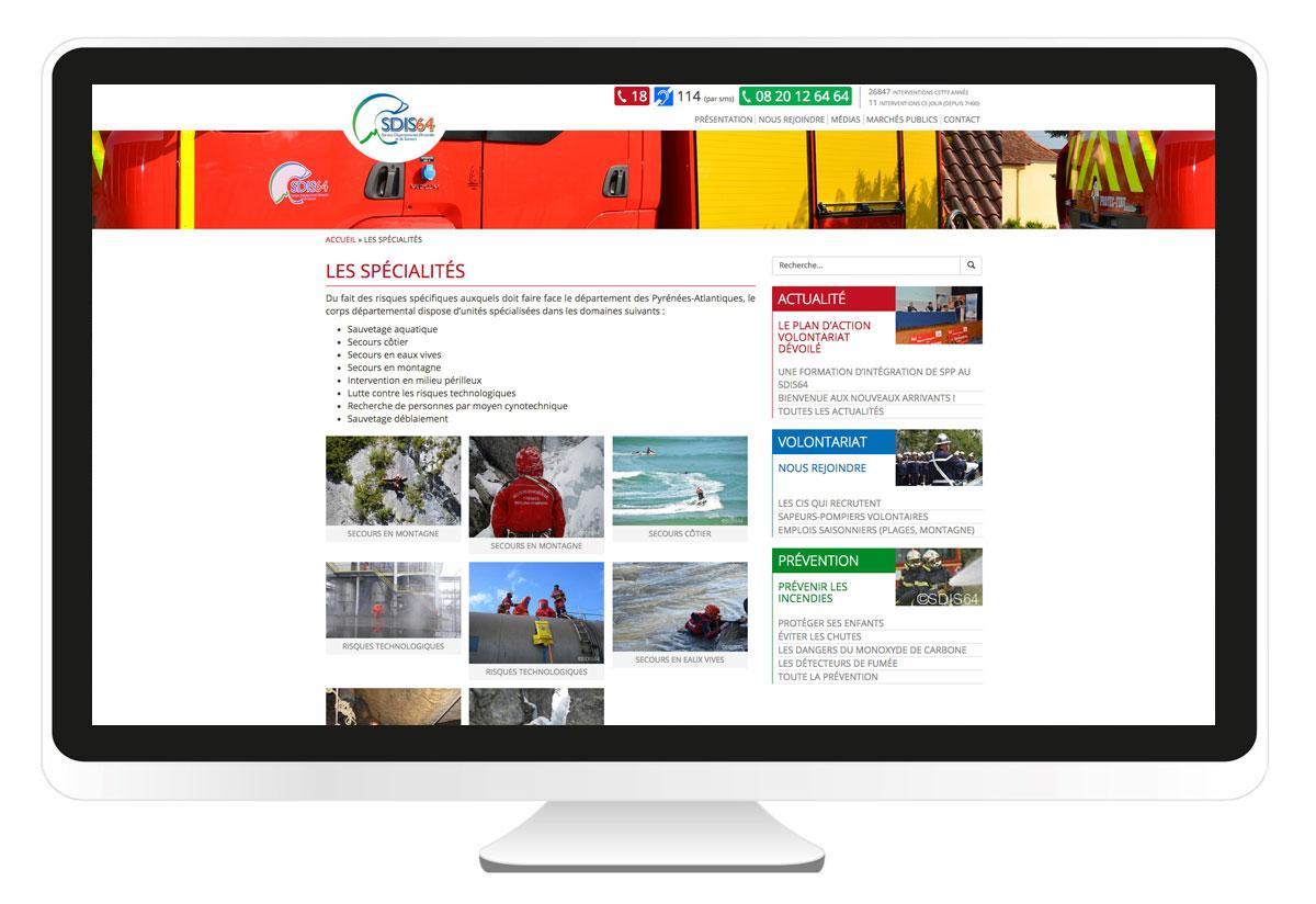 L 39 agence bbou bayonne cr ation le site internet for Le site internet