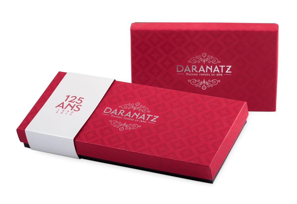 Daranatz packaging 125 ans