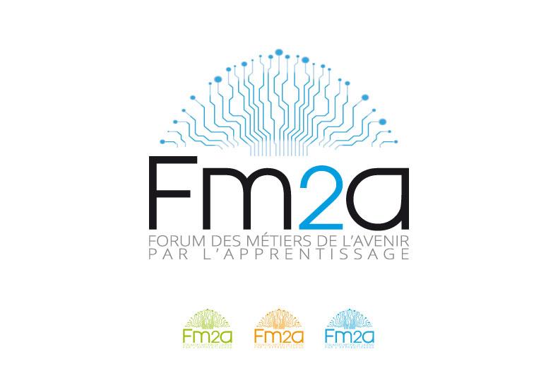 Estia création logo FM2A