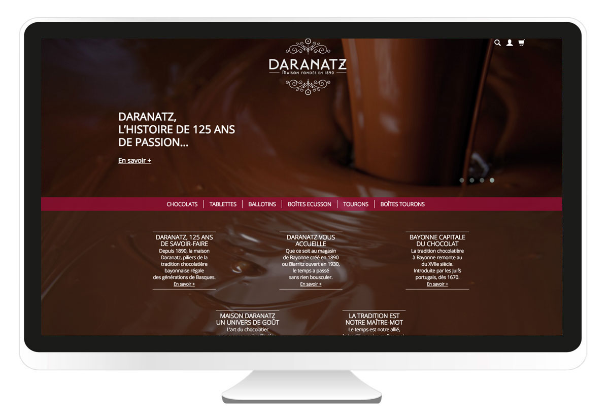 bbou agence de communication web pays basque bayonne anglet biarritz daranatz.com