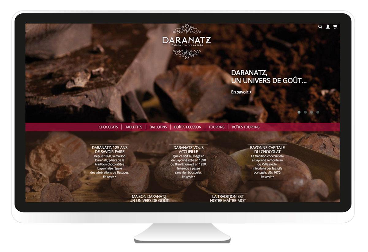 Daranatz création site internet