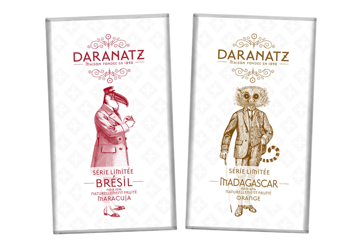 Daranatz packaging tablette série limité