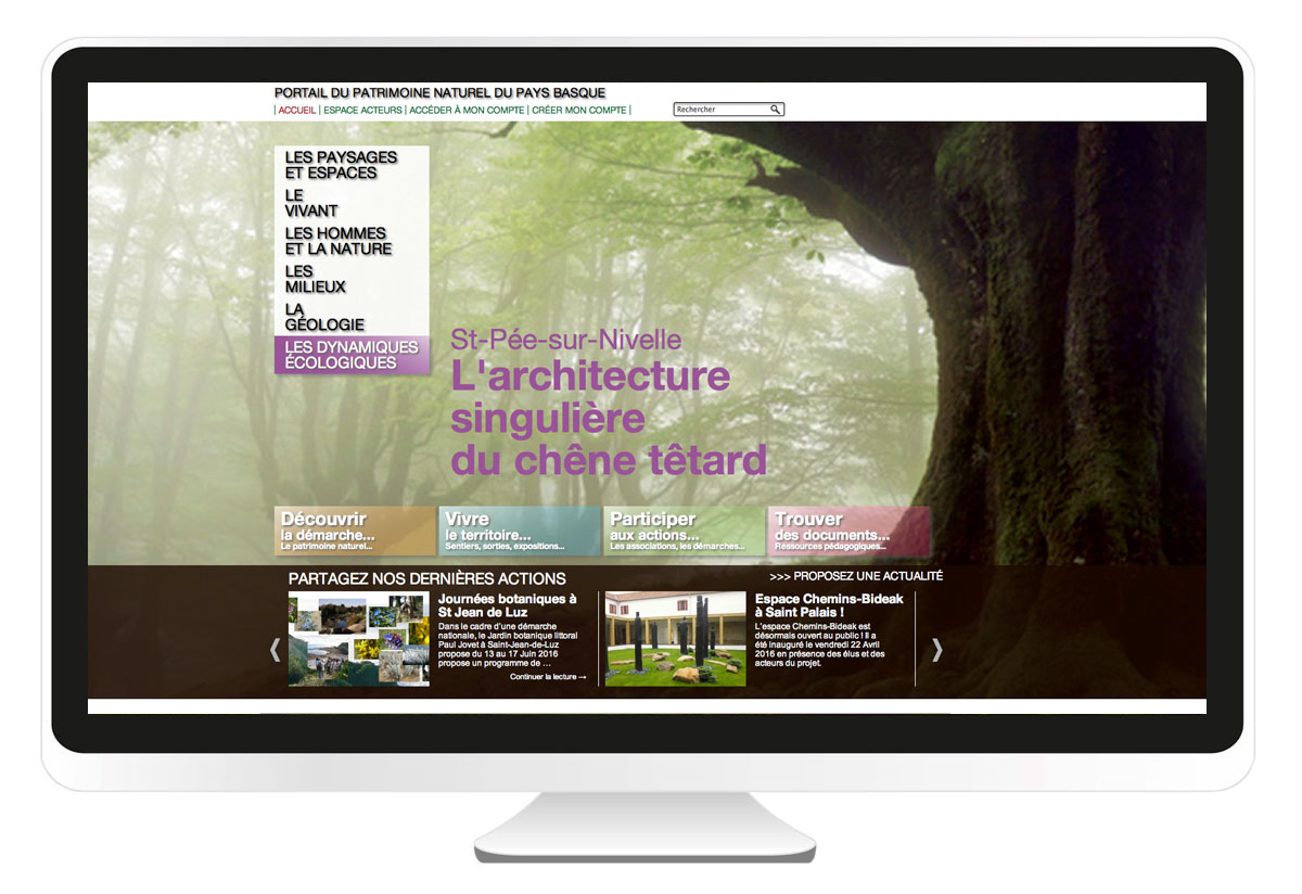 bbou agence de communication web pays basque bayonne anglet biarritz patrimoine-naturel-pays-basque.com