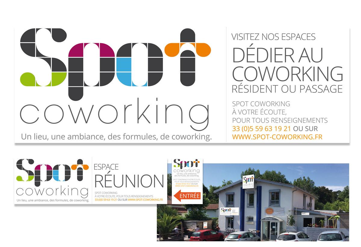 spot-coworking.fr signalétique