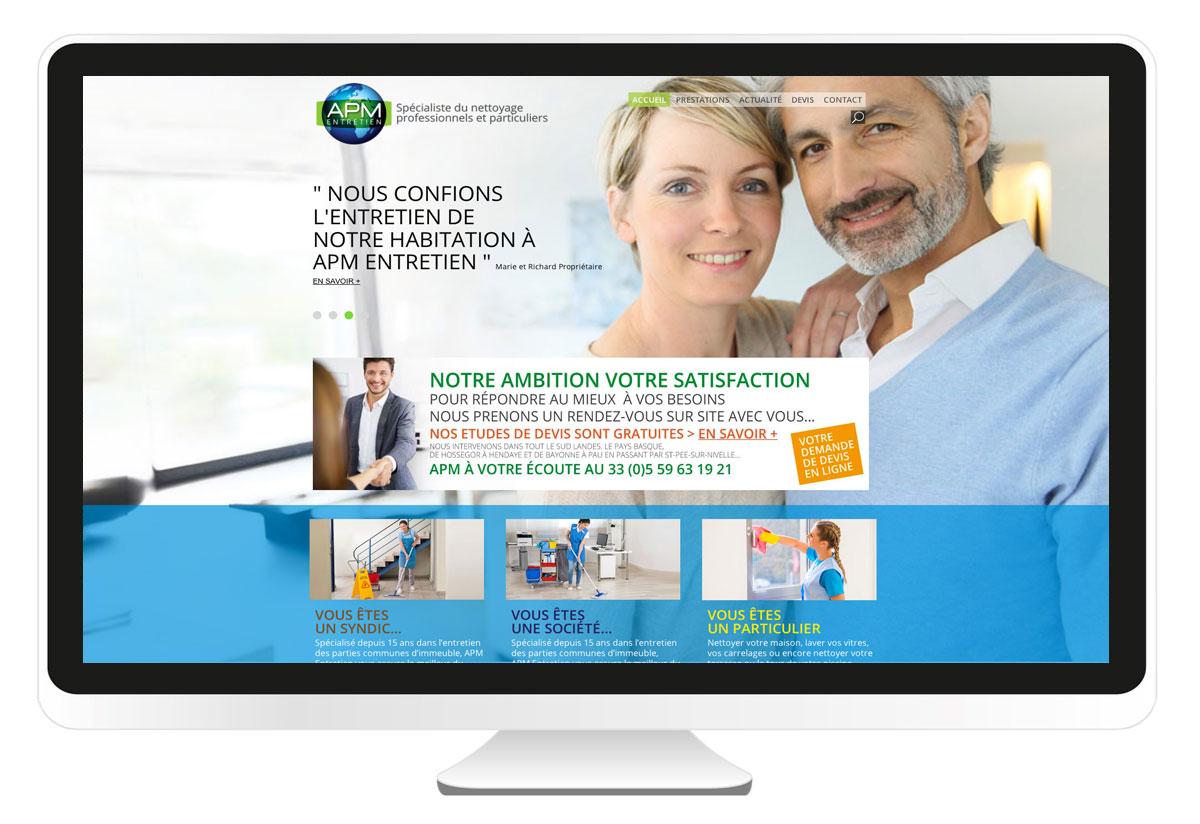 apm-entretien.com création site internet