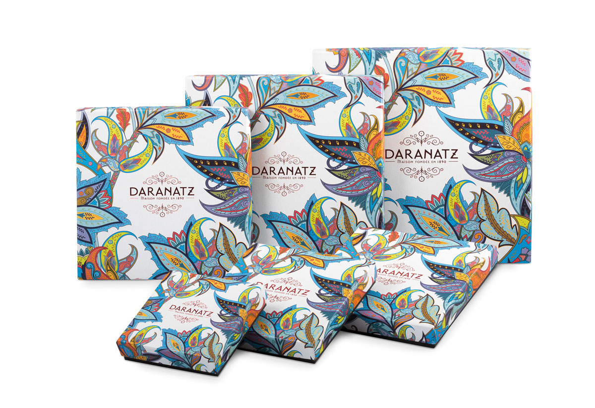 Daranatz packaging de Noël