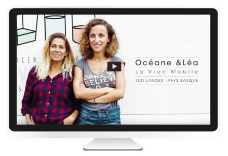Création par l'agence BBou communication et web pays basque, anglet bayonne biarritz de Film ITW pour le Reseau ECNA