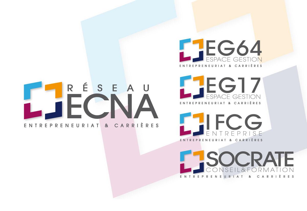 Ecna logo