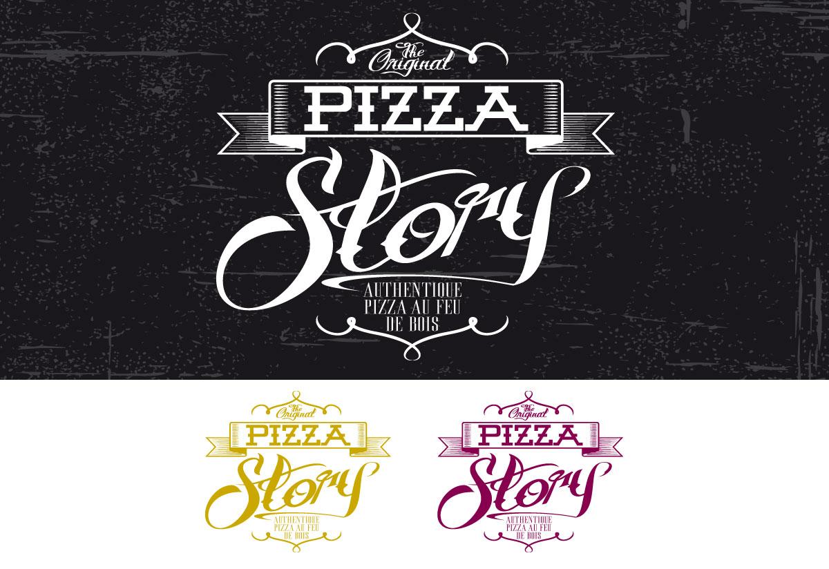 Pizza Story Logo