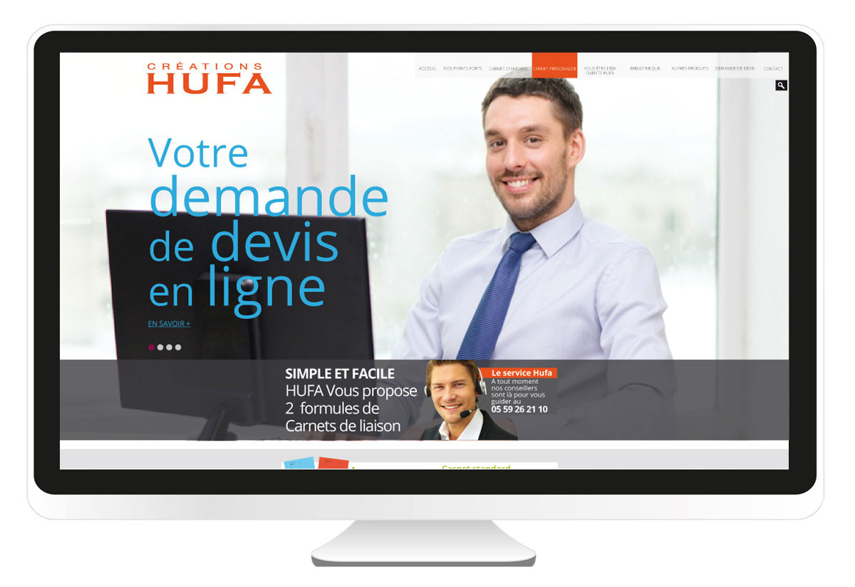 Hufa.fr site internet