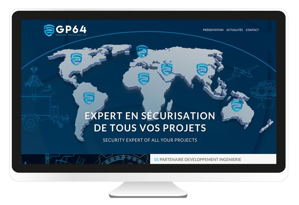 Groupe privilège 64 site internet